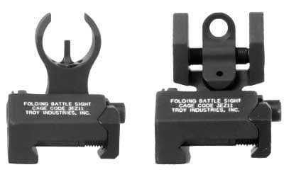 Troy HK Folding Sights Front and Rear- Micro Set