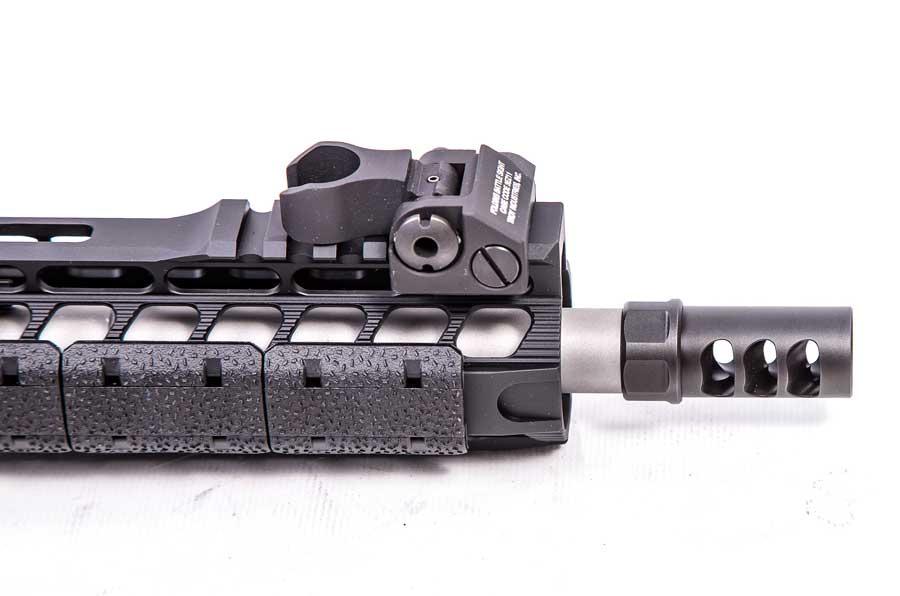 muzzle brake on rifle